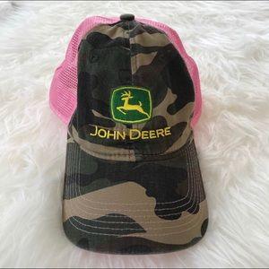 John Deere camo women's hat